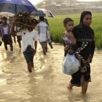 Myanmar, la fuga tragica dei Rohingya: almeno 6.700 morti in un mese per