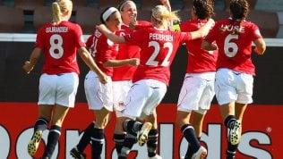 In Norvegia nel calcio la vera parità dei sessi: stesso stipendio per uomini e donne in nazionale