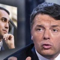 """Renzi: """"Di Maio folle, vuole tagliare pensioni da 2.300 euro"""". M5s frena: """"Ci riferiamo a..."""