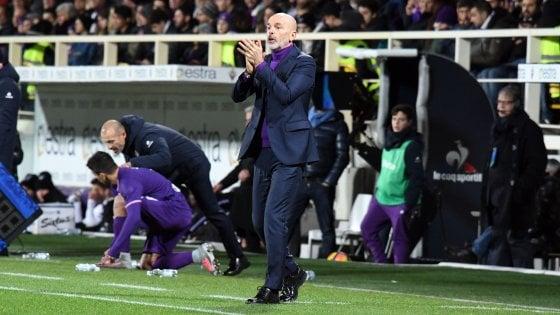 """Fiorentina, Pioli: """"Voglio giocatori motivati, chi si sente penalizzato dalle mie scelte può andare"""""""