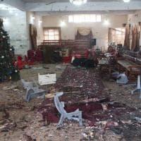 Pakistan, le immagini dell'attacco nella chiesa metodista di Quetta