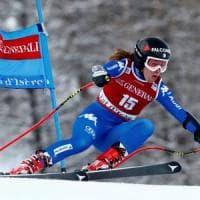 Sci, Cdm: altro podio per Sofia Goggia, terza nel superG in Val d'Isere