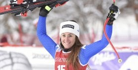 Altro podio per Sofia Goggia Terza nel superG Val d'Isere