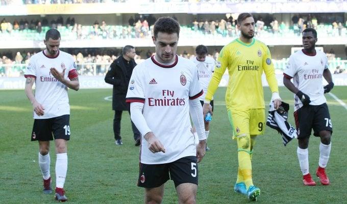 Verona ancora una volta fatale, il Milan crolla
