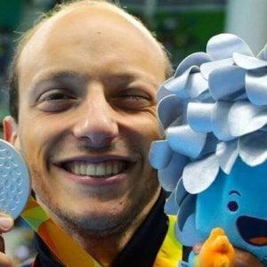 """""""Nato per l'acqua"""", l'autobiografia del campione paralimpico Morlacchi"""