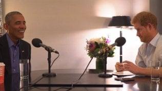 Harry giornalista per un giorno:l'intervista a Obama da ridere
