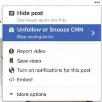 Facebook, ora puoi zittire un amico per un mese