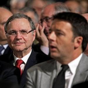 """Renzi: """"Il governatore ha fugato ogni dubbio, da noi nessuna pressione"""""""