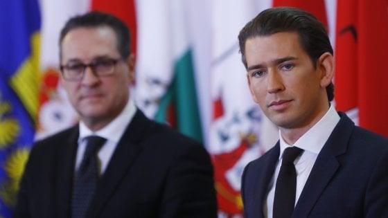 """Austria, il cancelliere Kurz all'Italia: """"Daremo doppio passaporto solo in stretta cooperazione con voi"""""""