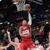 Basket, Eurolega: Milano ritrova la vittoria, Baskonia al tappeto al Forum