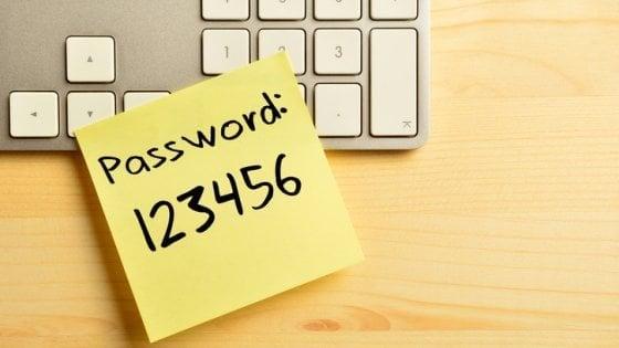 Le password peggiori? Anche nel 2017 vince '123456'
