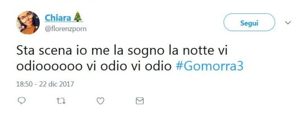 """Gomorra 3, il finale, le reazioni su Twitter: """"Ora niente ha più senso""""..."""