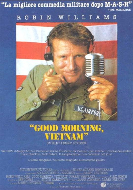 Good Morning Vietnam Intelligence : Good morning vietnam l urlo di robin williams che
