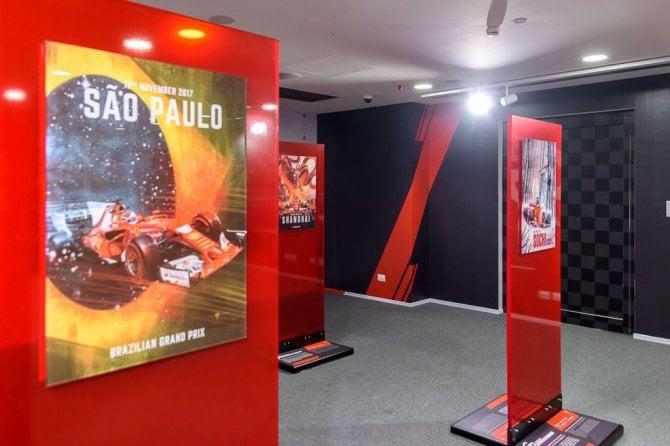 """""""GP d'autore"""", che mostra al Museo Ferrari di Maranello"""