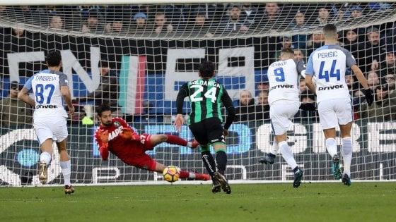 Sassuolo-Inter 1-0: Icardi sbaglia un rigore, Natale amaro per i nerazzurri