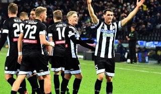 Udinese-Verona 4-0: bianconeri a valanga, quarto successo consecutivo per Oddo