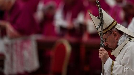 """Papa Francesco, per Terrasanta due Stati e confini riconosciuti: """"Si superino contrapposizioni"""""""