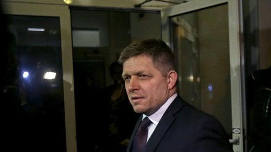Il primo ministro slovacco Robert Fico