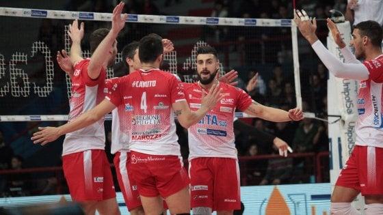 Volley, SuperLega: Perugia campione d'inverno, cadono Civitanova e Modena