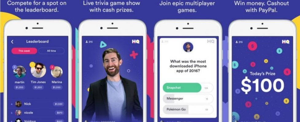 HQ Trivia arriva su Android, cresce il montepremi del quiz show via app