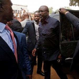 Weah ce l'ha fatta: l'ex campione del Milan eletto presidente della Liberia