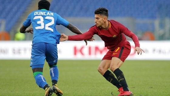 Roma fermata dal Sassuolo (1-1)