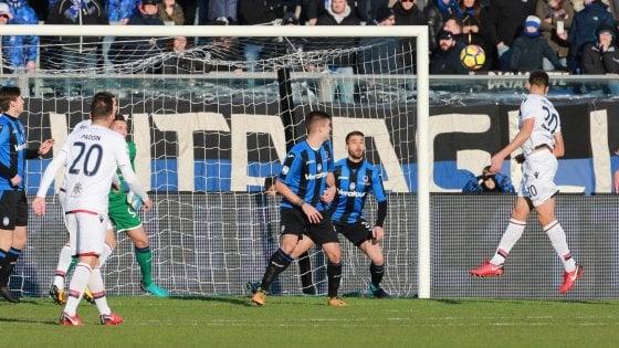 Atalanta-Cagliari 1-2: colpo grosso dei sardi, i nerazzurri si svegliano tardi