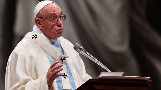 """Il Papa: """"Ogni vita, anche scomoda o ripugnante, va accolta, amata e aiutata"""""""