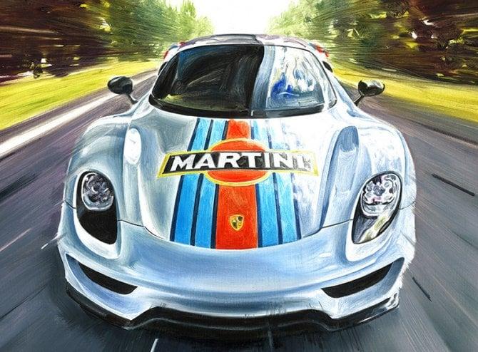 Andrea Del Pesco, ecco gli ultimi capolavori di Motoring Art