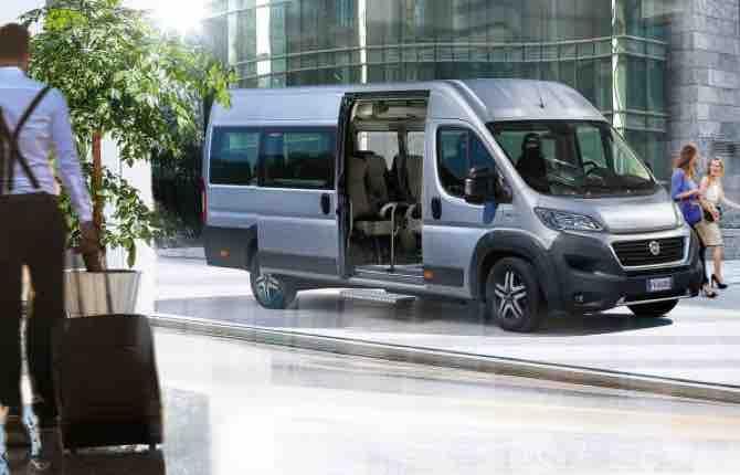 Nuovo Ducato Minibus, si parte