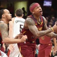 Basket Nba, debutto vincente per Thomas: Cleveland batte Portland