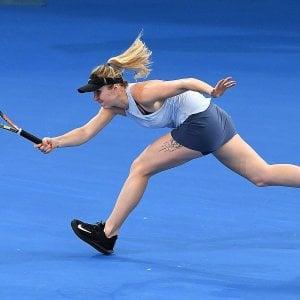 Tennis, Svitolina avanti a Brisbane. A Doha finisce il sogno di Berrettini e Travaglia