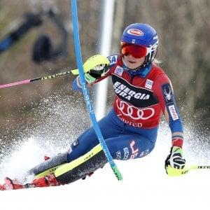 Sci, Shiffrin domina lo slalom di Zagabria. Italiane dietro