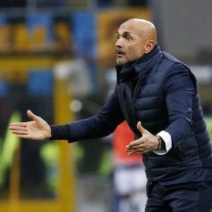 """Inter, Spalletti: """"Non sono contento del mio lavoro"""""""