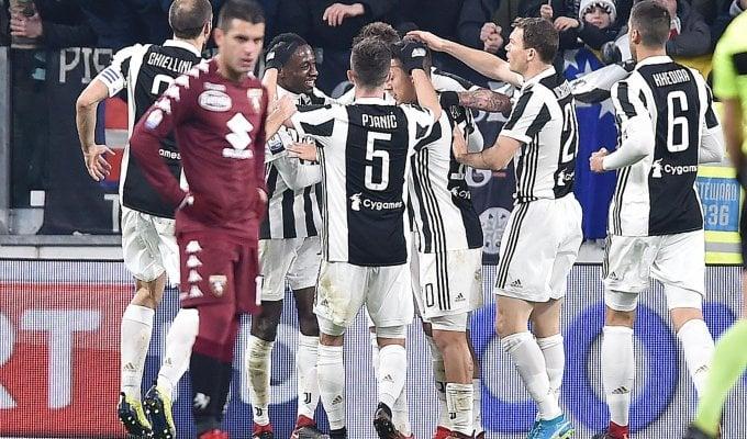 Coppa Italia, Juventus-Torino 2-0: in semifinale con Douglas Costa e Mandzukic