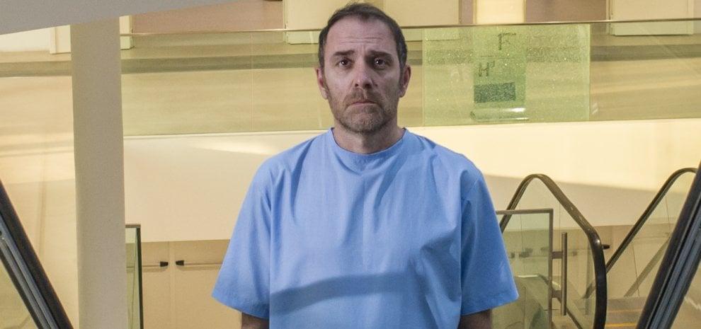 """Valerio Mastandrea: """"La mia 'linea verticale' in corsia: il riscatto di un paziente aggrappato alla vita"""""""