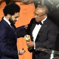 Calcio, Salah eletto giocatore africano dell'anno: la consegna del premio