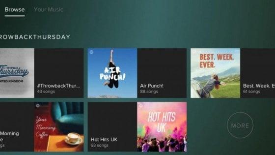 Spotify raggiunge 70 milioni di abbonati, verso l'Ipo in aprile-marzo