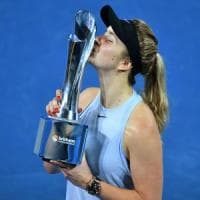 Tennis, Svitolina trionfa a Brisbane. Halep vince a Shenzhen