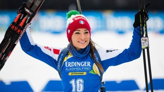 Calendario Biathlon.Biathlon Cdm Wierer Seconda Nella Pursuit Di Oberhof