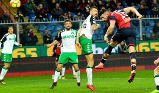 Genoa-Sassuolo 1-0, Galabinov ferma la serie degli emiliani