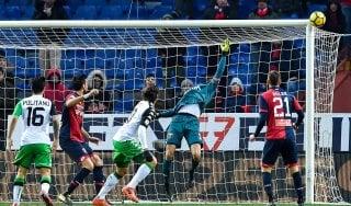 Le pagelle di Genoa-Sassuolo: Perin decisivo, Acerbi distratto
