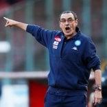 Napoli, Sarri dispensa applausi: