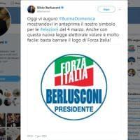 Forza Italia presenta il logo per le politiche: c'è