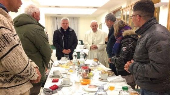 A tavola con Papa Francesco, tra prodotti di stagione e piatti della tradizione