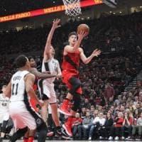Basket, Nba: stop per San Antonio e Oklahoma City, ancora un ko per Belinelli
