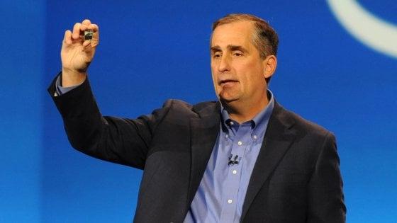 Ces 2018. Dopo il caso dei chip, parla  Krzanich a capo di Intel