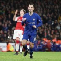 Mercato: Hazard strizza l'occhio al Real, Roma su Darmian e Barella