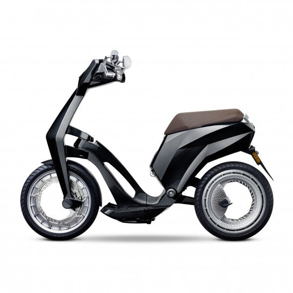 Ujet, lo scooter elettrico che arriva dal futuro