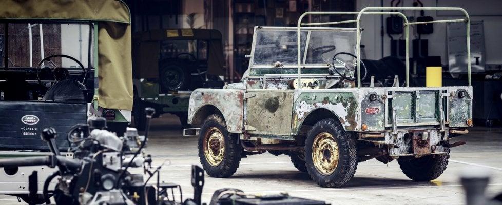 Ritrovato il sacro Graal delle Land Rover